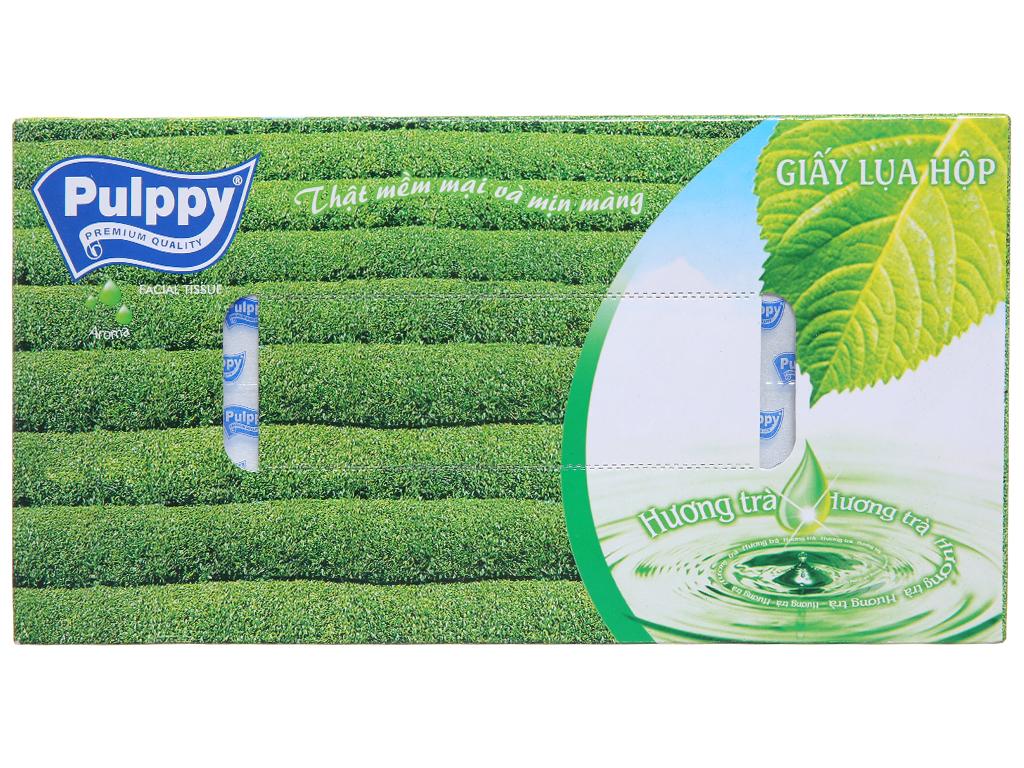 Khăn giấy lụa Pulppy hộp 100 tờ 2 lớp 3