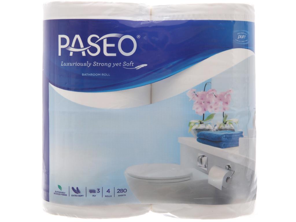 4 cuộn giấy vệ sinh Paseo 3 lớp 2