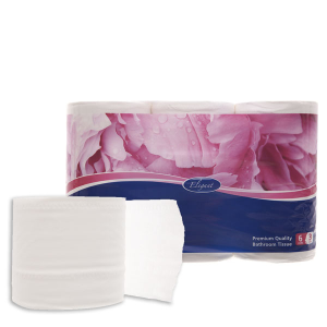 6 cuộn giấy vệ sinh Paseo Elegant 3 lớp