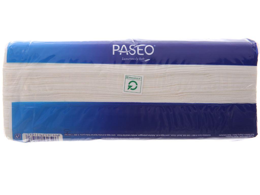 Khăn giấy Paseo Luxuriously Soft gói 220 tờ 2 lớp 4