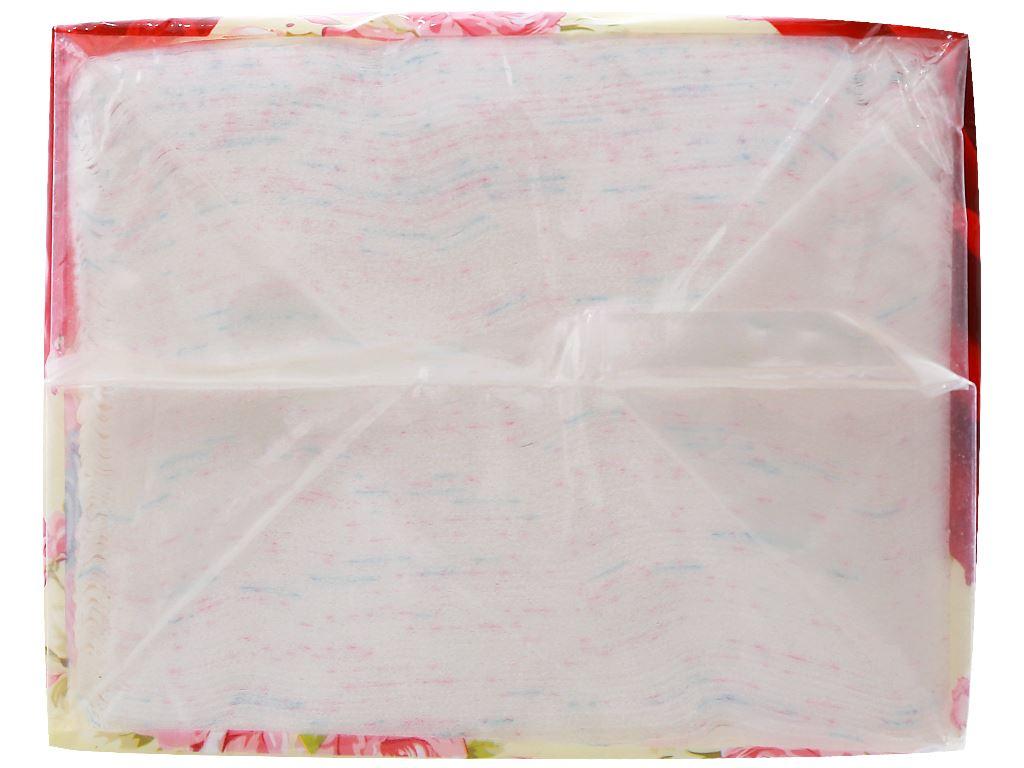 Khăn giấy ăn Cellox Purify Rosy gói 180 tờ 2 lớp 5