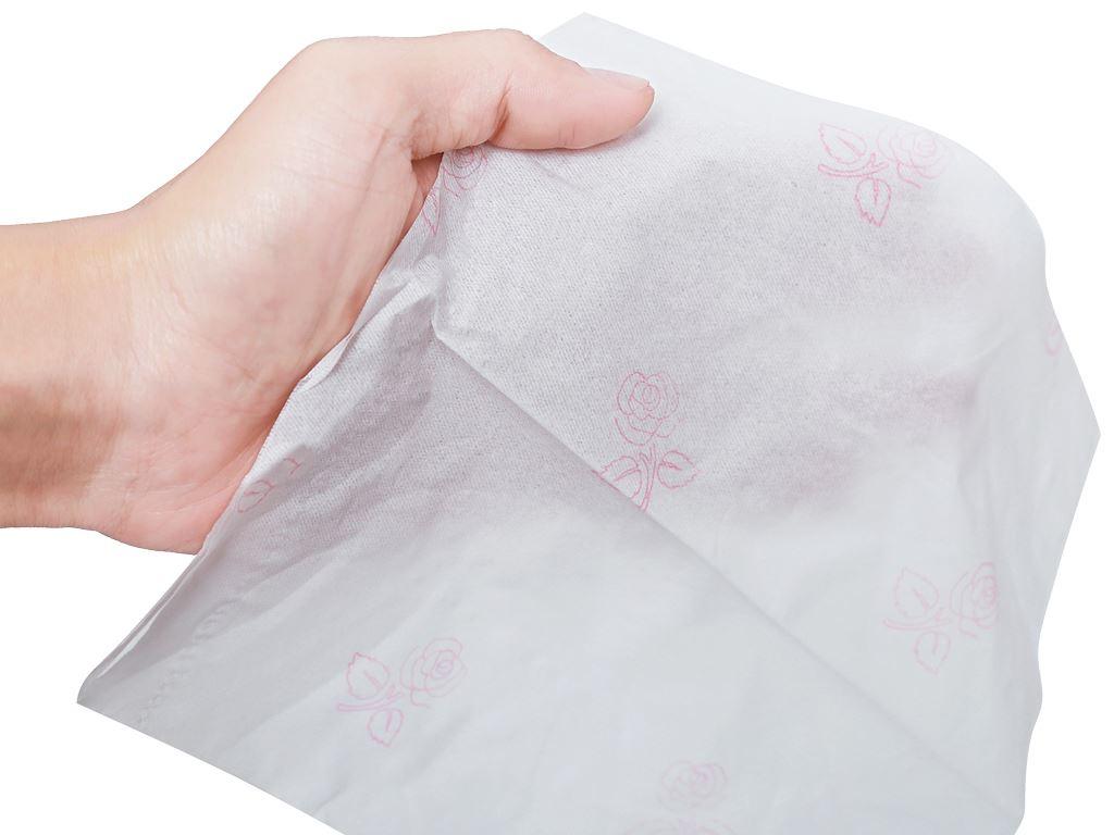Khăn giấy ăn Cellox Purify Rosy gói 180 tờ 2 lớp 7