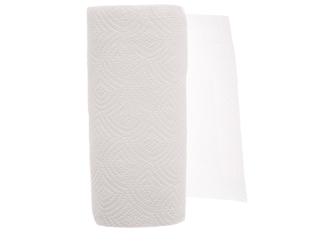 2 cuộn khăn giấy đa năng Pulppy Supreme 2 lớp 4