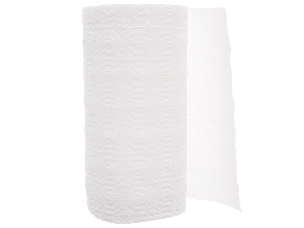 2 cuộn khăn giấy đa năng Pulppy 2 lớp 4