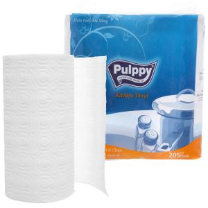 2 cuộn khăn giấy đa năng Pulppy 2 lớp
