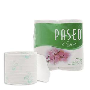 4 cuộn giấy vệ sinh Paseo Elegant 3 lớp