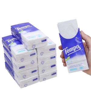 Khăn giấy ăn Tempo hương bạc hà 4 lớp 10 gói