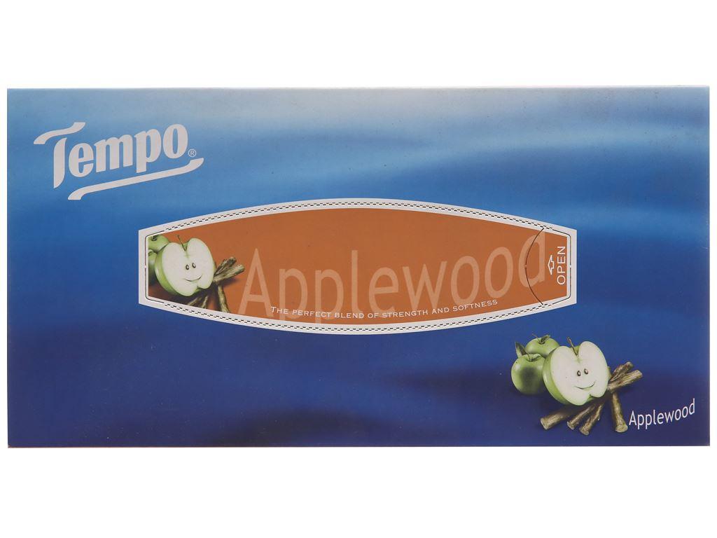 Khăn giấy Tempo hương AppleWood hộp 90 tờ 3 lớp 3