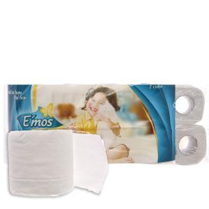 10 cuộn giấy vệ sinh E'mos Classic 2 lớp