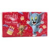 Khăn giấy Multi travel tissue gói 70 tờ 2 lớp (1800x19500mm)
