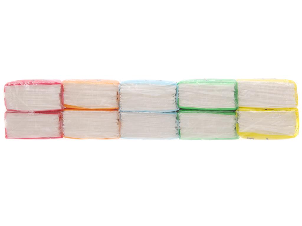 10 gói khăn giấy bỏ túi Tender Soft 3 lớp 3