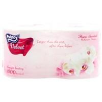 Giấy vệ sinh Pulpy vevet gói 2 cuộn 2 lớp
