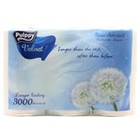 Giấy vệ sinh Pulppy Velvet gói 6 cuộn 2 lớp