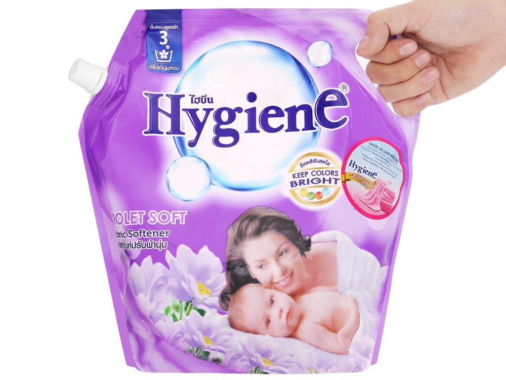Nước xả cho bé Hygiene Violet Soft túi 1.8 lít 6