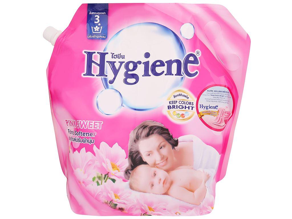 Nước xả cho bé Hygiene Pink Sweet túi 1.8 lít 3