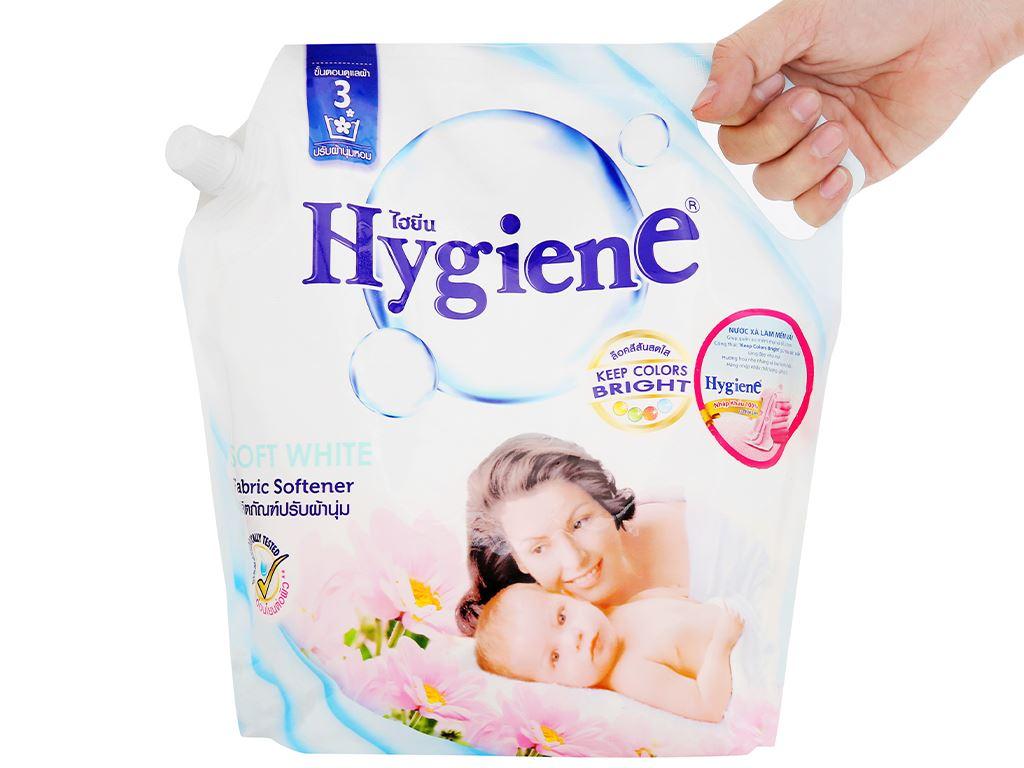 Nước xả cho bé Hygiene Soft White túi 1.8 lít 7