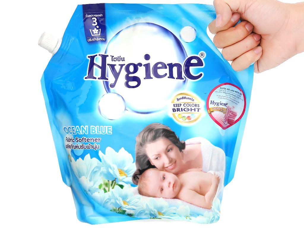 Nước xả cho bé Hygiene Ocean Blue túi 1.8 lít 4