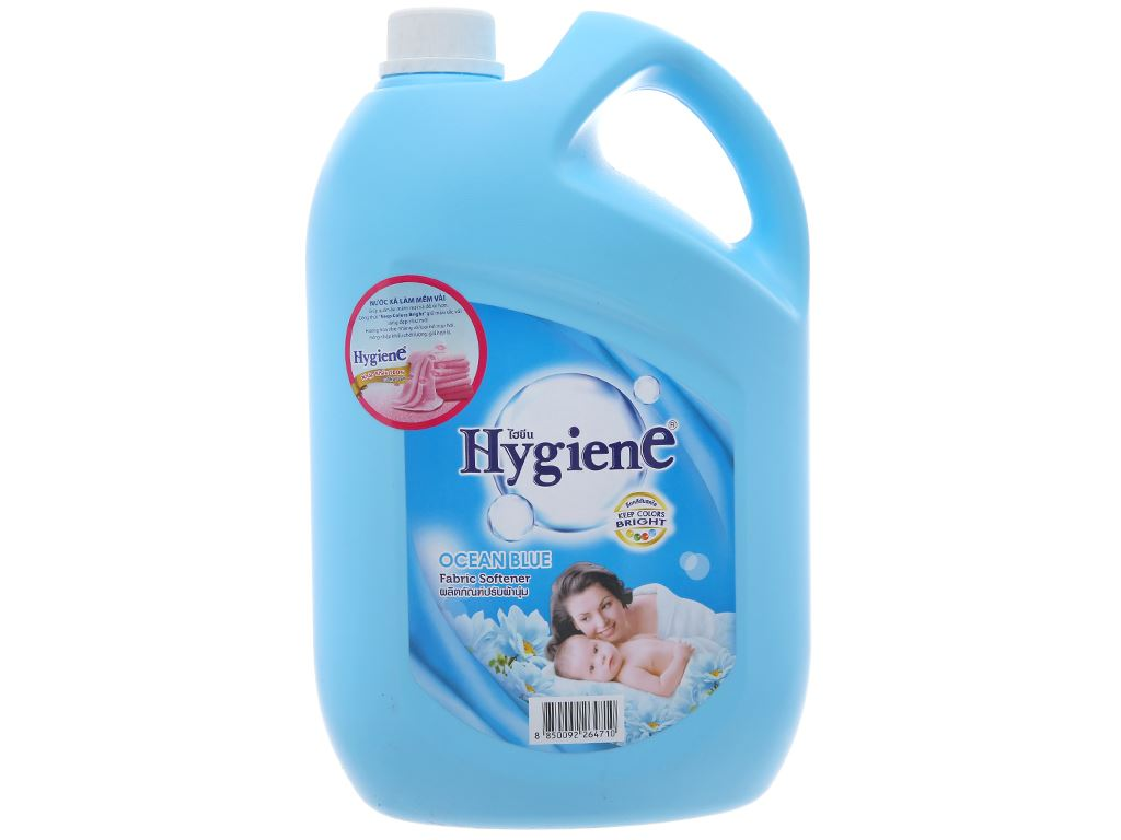 Nước xả cho bé Hygiene Ocean Blue can 3.5 lít 2