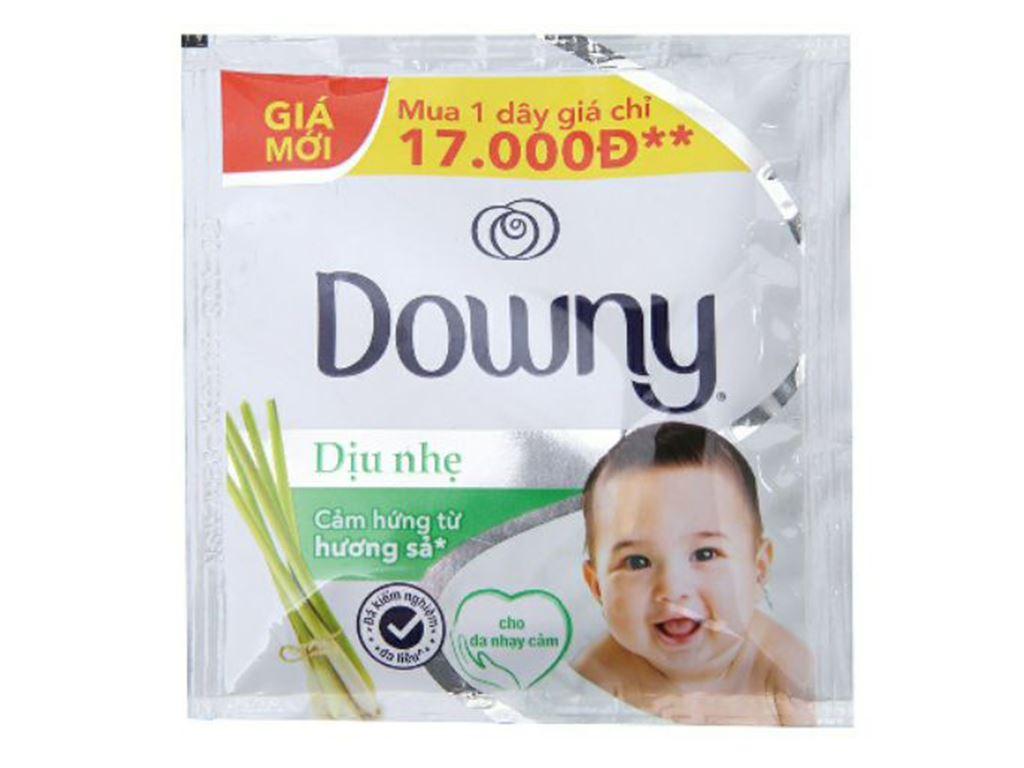 Nước xả cho bé Downy dịu nhẹ hương sả 10 góix21ml 3