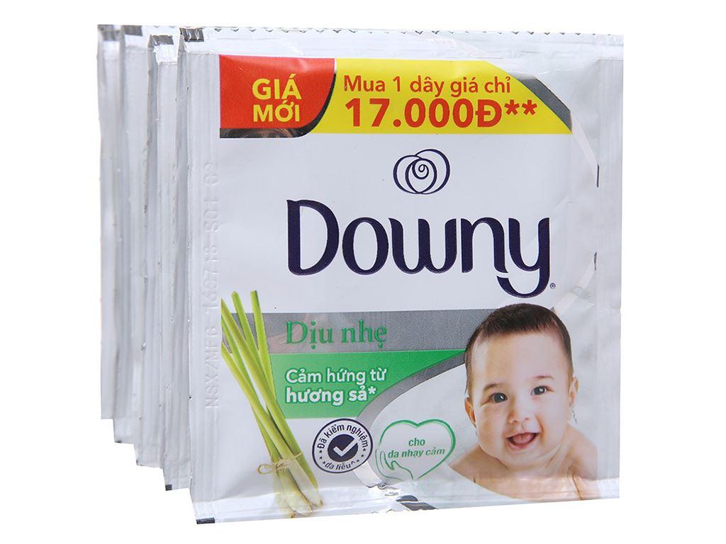 Nước xả cho bé Downy dịu nhẹ hương sả 10 góix21ml 4