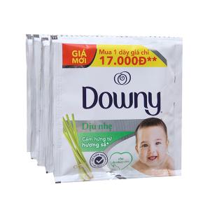 Nước xả mềm vải cho bé Downy hương sả túi 21ml