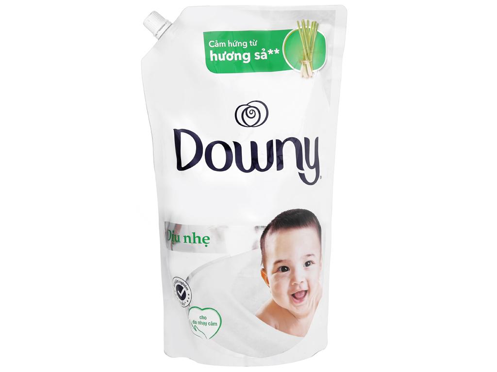 Nước xả cho bé Downy dịu nhẹ hương sả túi 1.6 lít 2