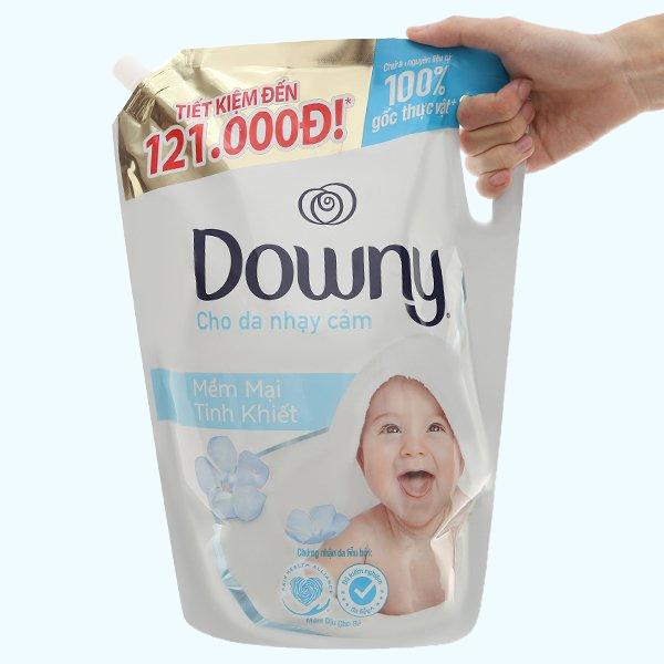 Nước xả cho bé Downy mềm mại tinh khiết túi 2.6 lít