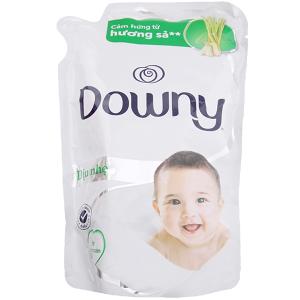 Nước xả mềm vải cho bé Downy hương sả túi 800ml