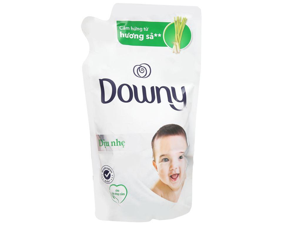 Nước xả cho bé Downy dịu nhẹ hương sả túi 800ml 1