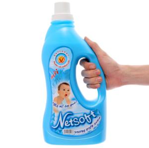 Nước xả cho bé Netsoft hương biển xanh chai 2 lít