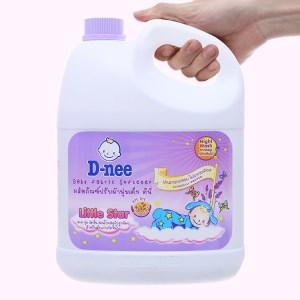Nước xả cho bé D-nee Little Star Tím can 3 lít