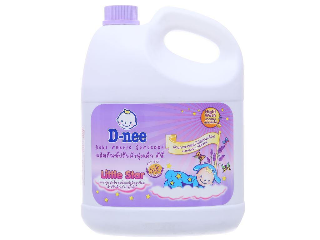 Nước xả cho bé D-nee Little Star Tím can 3 lít 1