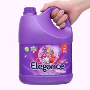 Nước xả cho bé Elegance tím ngọt ngào can 3 lít