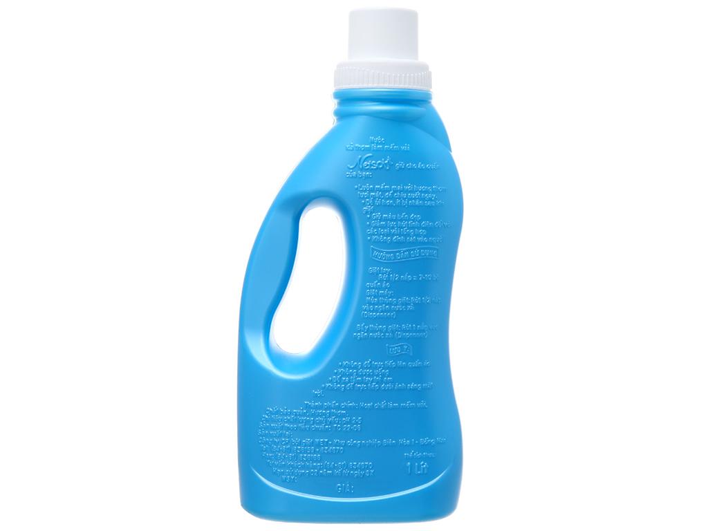 Nước xả cho bé Netsoft hương biển xanh chai 1 lít 3