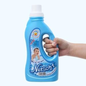 Nước xả cho bé Netsoft hương biển xanh chai 1 lít