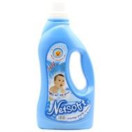 Nước xả vải cho bé Netsoft hương Biển xanh chai 2lít