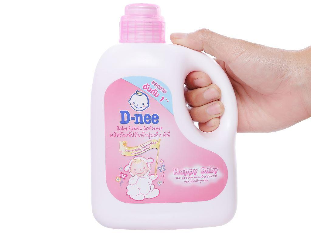 Nước xả cho bé D-nee hồng chai 1 lít 3