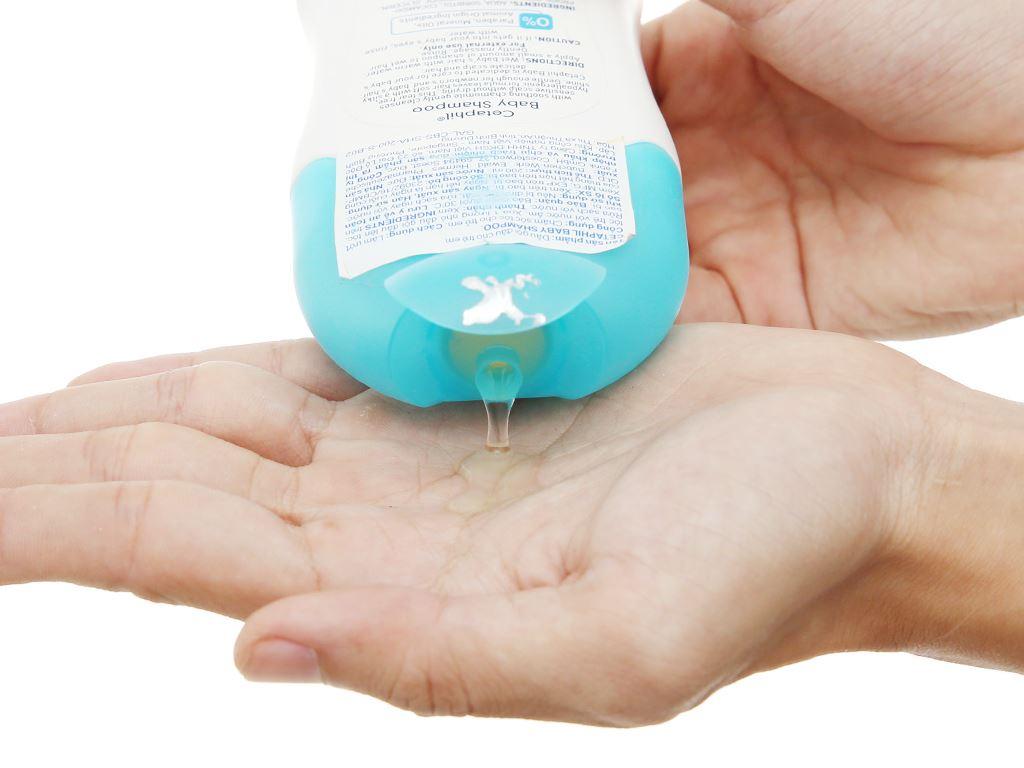 Dầu gội cho bé Cetaphil Baby Shampoo 200ml 4