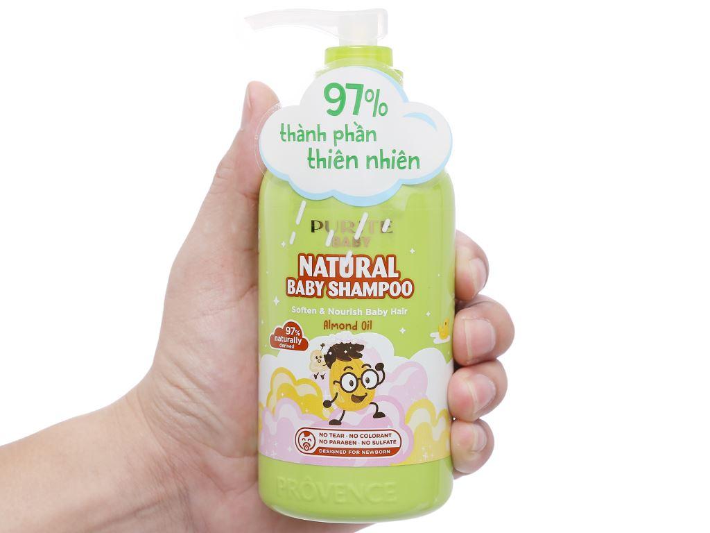 Dầu gội cho bé Purité Baby hạnh nhân 250ml 6