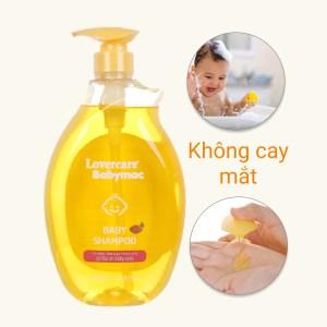 Dầu gội cho bé Lovercare Babymac Baby Shampoo 1lít