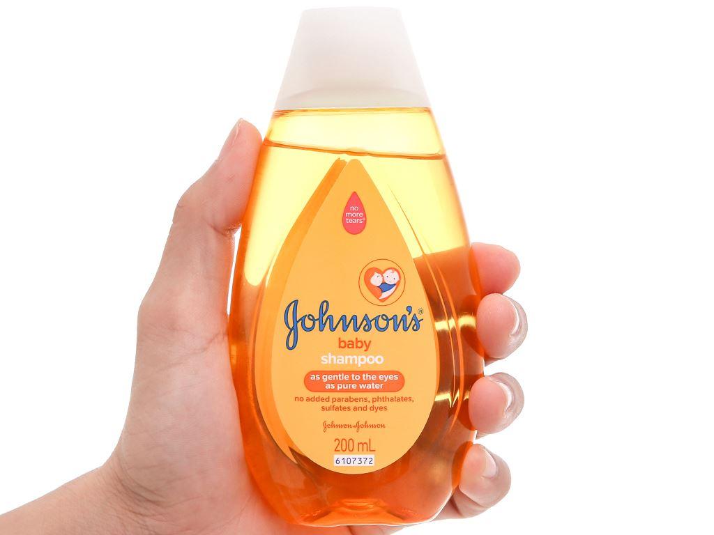 Dầu gội cho bé Johnson's Baby 200ml 4