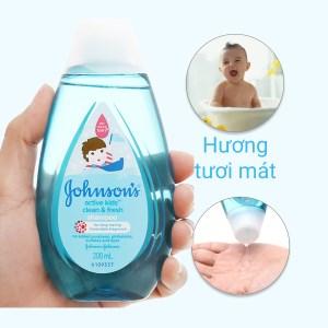 Dầu gội cho bé Johnson's Baby thơm mát năng động 200ml