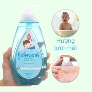 Dầu gội cho bé Johnson's Baby thơm mát năng động 500ml