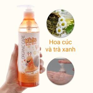 Sữa tắm cho bé Organic Care Kids Fruit Blash 400ml