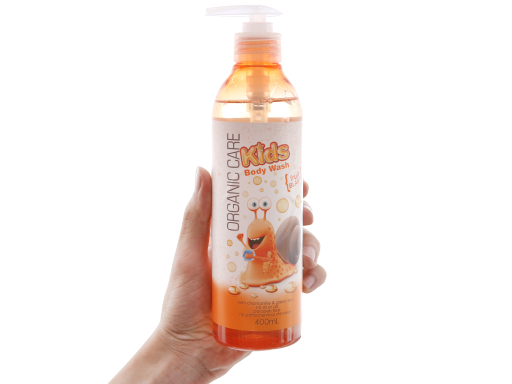 Sữa tắm cho bé Organic Care Kids Fruit Blash 400ml 4