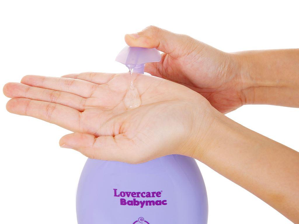 Sữa tắm cho bé Lovercare Babymac Happy Bedtime Bath 1lít 4
