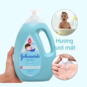 Sữa tắm cho bé Johnson's Active Fresh thơm mát năng động 1lít