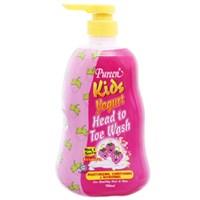 Sữa tắm gội toàn thân Pureen hương phúc bồn tử 750ml