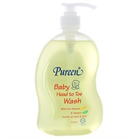 Sữa tắm gội toàn thân Pureen Pro vitamin B5&E 750ml