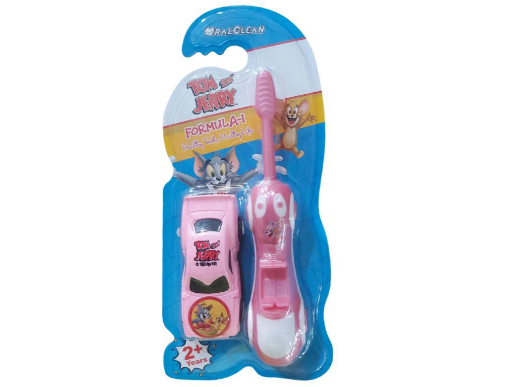 Bàn chải cho bé trên 2 tuổi Oral-Clean Formula-1 lông mềm (giao màu ngẫu nhiên) 6